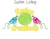 Custom listing for Krista W