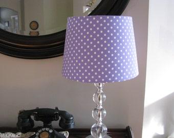 Lavender Purple Lamp Shade