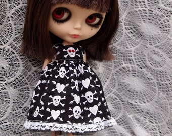 Halloween Dress for Blythe Dolls