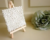 Handmade Porcelain Tile with Mini Easel