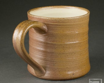 14 oz Salt-fired Stoneware Mug