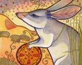 Bilby and Celtic Knotwork