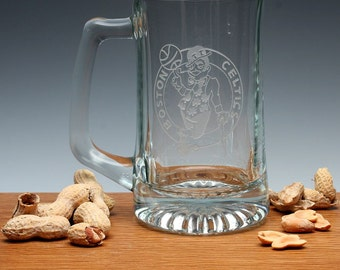 Engraved Sports Beer Mug.