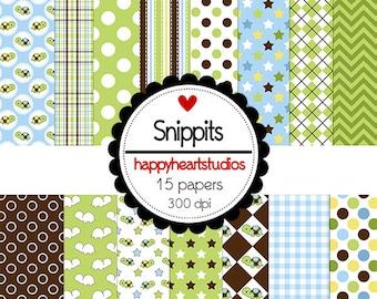 DigitalScrapbook Snippits -INSTANT DOWNLOAD