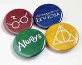 Harry Potter Buttons or Magnets