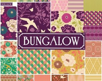 Joel Dewberry Bungalow fabric: Fat quarter fabric bundle, 23-pc set