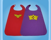 Reversible Wonder Woman Royal Princess Cape Costume
