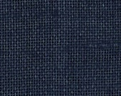 NAVY BLUE Burlap FABRIC By the Yard - 58 - 60 inches wide