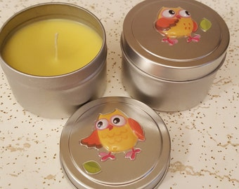 Soy Candle Scented Jasmine