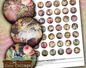 Degas Ballet Digital Collage Sheet 1 Inch Circles for Bottle Cap Jewelry Ballet Images Vintage Paintings DIY Jewelry Supplies for Pendants