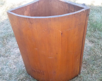 Antique PANTRY BIN, Victorian Butlers Pantry Bin,Antique Flour Storage Bin,Pull Out Wood Storage Bin,Undercounter Flour Storage Bin,