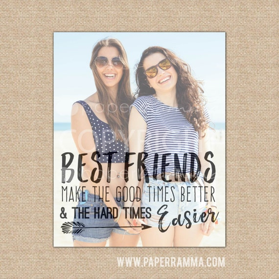7 Personalized Birthday Presents For Your Best Friend: Birthday Gift For Her Best Friend Gift Best Friend Quotes