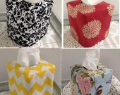 Design you own reversible tissue box cover