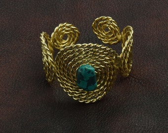 Southwestern Style Cuff Bracelet , J853G