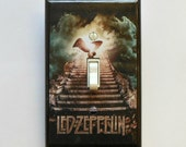 5 CHOICES- Led Zeppelin Switchplate w/ MATCHING SCREWS Led Zeppelin album Led Zeppelin poster Houses of the Holy Stairway to Heaven Zeppelin
