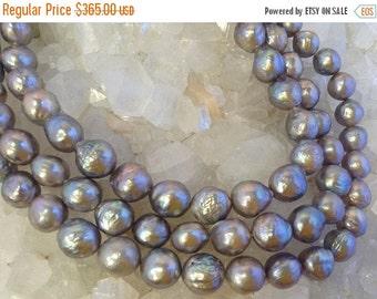50% Mega Sale 11-14mm Gray Baroque Freshwater Pearls