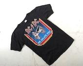 20% off sale Vintage ACDC Shirt / AC DC Shirt / 80s T Shirt / S M