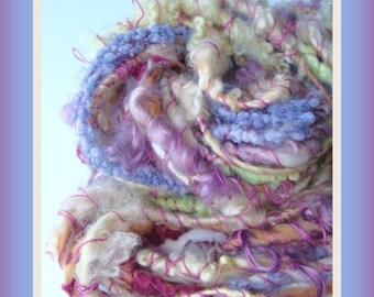 Handspun Yarn - Lock Yarn - Art Yarn