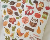 Fall/Autumn Midori Notebook Folders; Traveler's Notebook Folder, Standard size folder