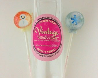 2 pack Christmas lollipop