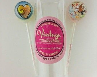 2 pack Valentines Day lollipop