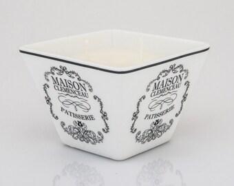 beeLUXE Candles - beeswax blend container candle - Patisserie Design - bee HEALTHY - beeLUXE