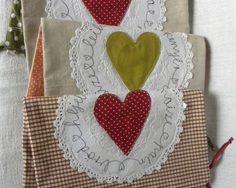 Linen string bag for BREAD