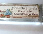 Energize Me, Natural Energy Boost Aromatherapy Blend