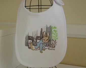 Peter Rabbit Beatrix Potter baby bib