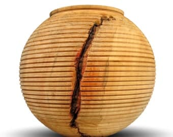 Decorative Wooden Vessel - Box Elder Wood - The Form