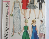 Simplicity 6208 Sewing Pattern Barbie Doll Clothes