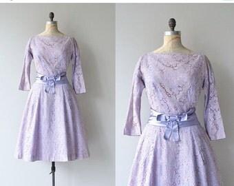 25% OFF.... Juno's Iris dress   lace 1950s dress   vintage 50s dress
