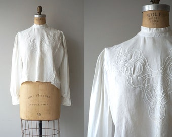 Bounty Hill blouse | antique 1910s blouse | edwardian cotton shirtwaist