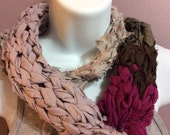 Mixed up 2 - Upcycled recycled knots