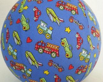Balloon Ball TOY - Things that GO - Car, Truck, Train, Fire Engine