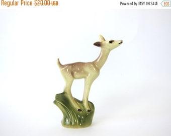1950s vintage deer Mid Century Home Decor Shelf Display Figurine