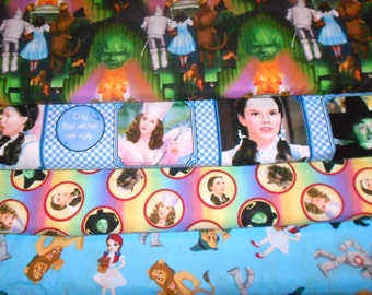 WIZARD Of OZ #1  Fabrics, Sold INDIVIDUALLY not as a group, by the Half Yard