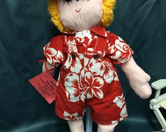 "21"" Soft Sculptured Boy Doll"