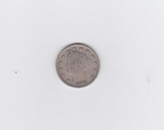 1903  Liberty head or victory nickel