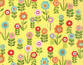 Cherry on Top 1 & 1/2 Yard Remnant 32703-15 Yellow
