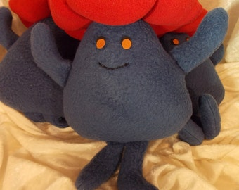 VILEPLUME~Pokeman Plush Stuffed Animal Toy~Handmade Pokeman Doll~Petal Blizzard~Razor Leaf