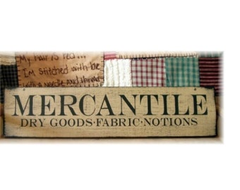 MERCANTILE Dry Goods Fabrics Notions