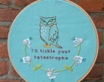 Fowl Talk. Shakespeare Inspired Hand Embroidery PDF