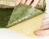 NEW Peel & Stick Moss table runners-Moss mats-Preserved Moss sheets-Decorative Moss Sheets-Table Runners-Green Moss - Moss Mat