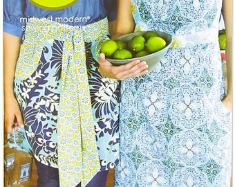 SUMMER PATTERN SALE - Domestic Goddess By Amy Butler - Apron Pattern