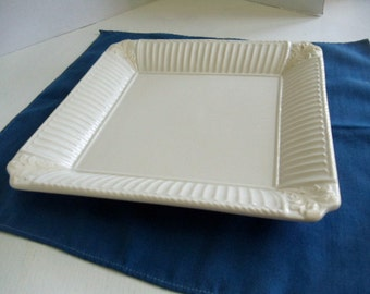 Lenox China Butler's Pantry Serving Plate with Fluted Edge