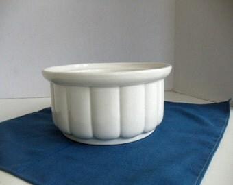 White Scalloped Bowl by Thun
