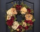 Joy to the World, Wreath, Christmas Welcome Wreath, Abundant Blessings, Christmas Decor, Wreath