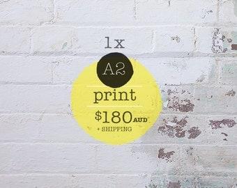 1 x A2 Art Print Children's Art Print
