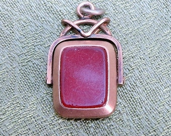 A Victorian FOB with Beveled Glass